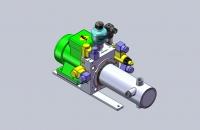 מתקן לבדיקת צינורות לחץ